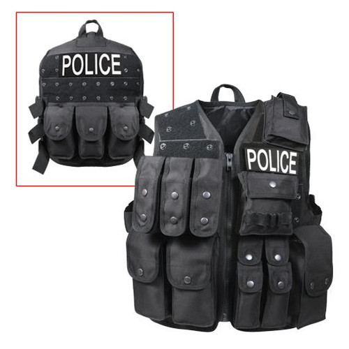 Tactical Raid Vest - Black