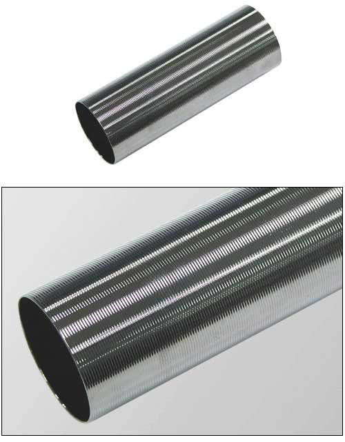 Guarder Bore-Up Super Lucid Chromium Plating Cylinder For Airsoft AEG ( M16 / G36 / AK / G3 )