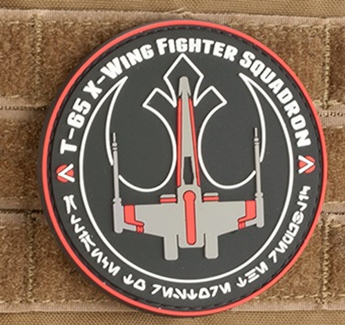 Red Squadron PVC Morale Patch