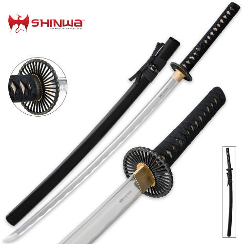 Shinwa Warrior Creed Black Katana