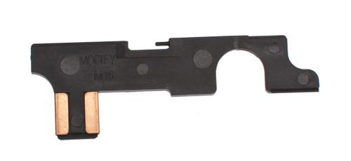 Modify Selector Plate for M4  M16 Series Airsoft AEG Rifles