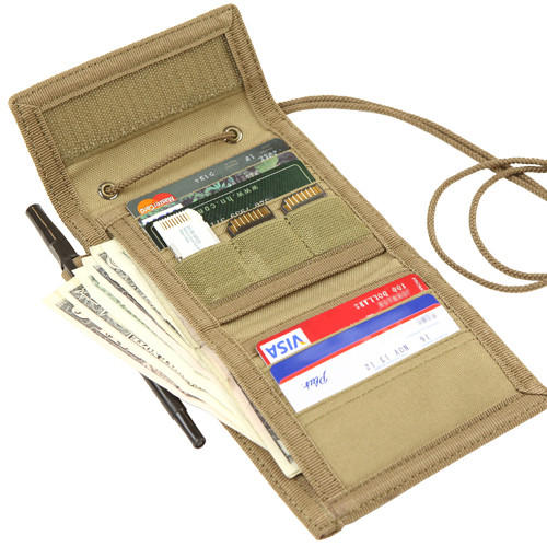 Condor Vault Tri-fold Wallet