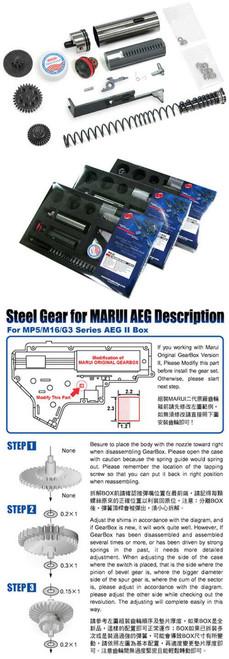 Guarder SP150 Infinite Torque-Up Kit for AK Series Airsoft AEG (Short Barrel)