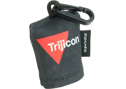 Trijicon Black Lens Cloth Keychain by SPUDZ