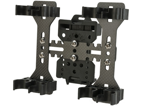 APS CAM05 Quad-load 4 Round Shotshell Caddy System with Belt Loop Adapter - Set of 2