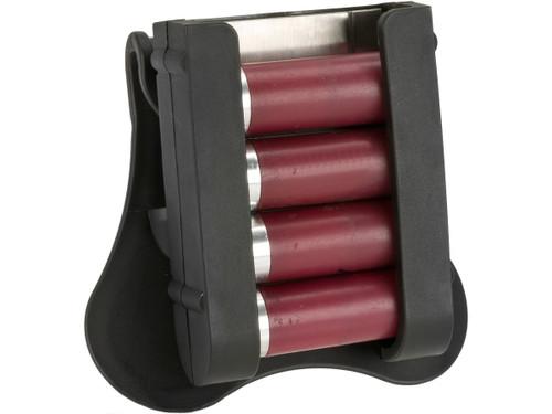 Cytac Hard Shell 4 Round Shotgun Shell Caddy (Mount Paddle)