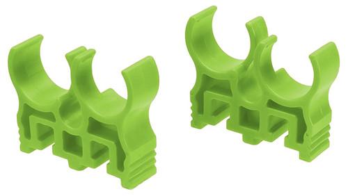 Shotshell Clips for Quad-Load X2 APS Shotshell Caddy System - Green