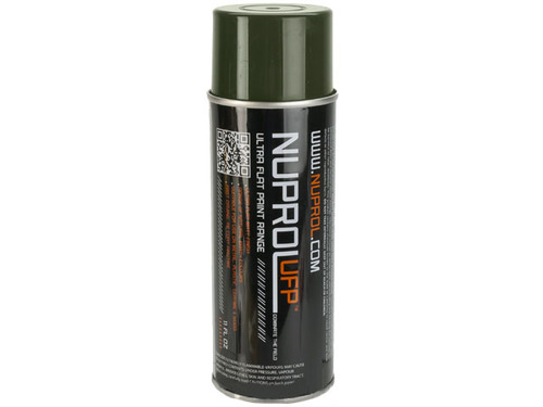Nuprol Ultra Flat Paint (UFP) - Flat Earth OD Green / 11oz - (Ground Shipping Only, no Express/Air)