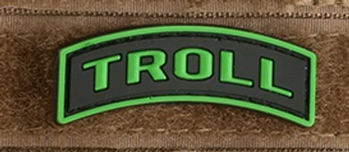 "Keyboard Warrior ""Troll"" Tab - PVC Morale Patch"