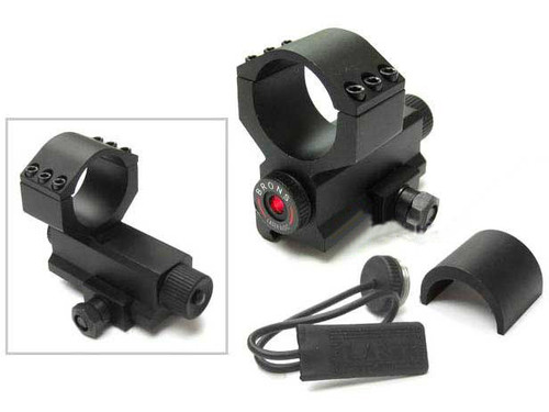 Samurai Laser Module Aim Point Type Cantilever Scope Mount with remote