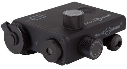 Sightmark LoPro Laser Designator - Green / Matte Black