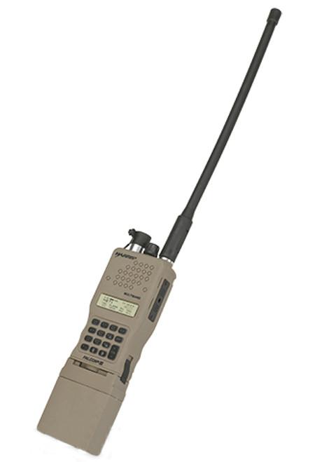 FMA High-Grade Dummy PRC-152 Radio w/Detachable Antenna - Dark Earth