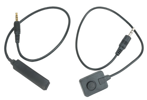 Pressure Switch Set for G&P PEQ II Illuminator + Laser Unit - Black