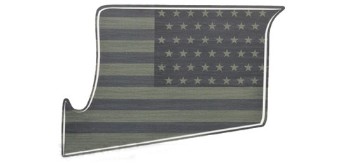 US NightVision Rapid Wraps™ Magwell Slaps - US Flag (OD Green)