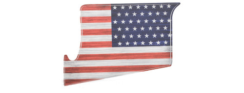 US NightVision Rapid Wraps™ Magwell Slaps - US Flag (Red, White, & Blue)
