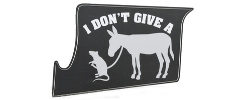 US NightVision Rapid Wraps™ Mil Spec Monkey Magwell Slaps - I Dont Give A