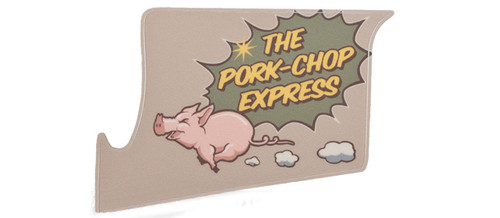 US NightVision Rapid Wraps™ Mil Spec Monkey Magwell Slaps - Pork Chop Express