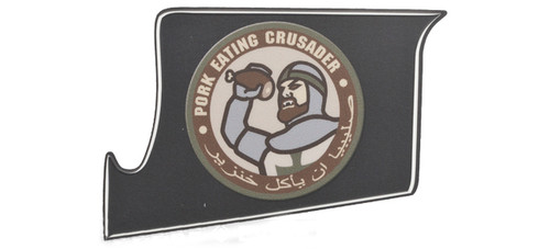 US NightVision Rapid Wraps™ Mil Spec Monkey Magwell Slaps - Pork Eating Crusader