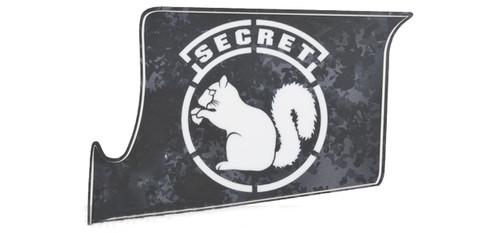 US NightVision Rapid Wraps™ Mil Spec Monkey Magwell Slaps - Secret Squirrel (BlackWhite)