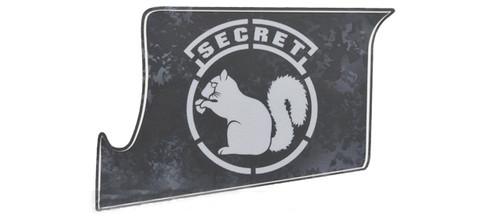 US NightVision Rapid Wraps™ Mil Spec Monkey Magwell Slaps - Secret Squirrel (GrayBlack)