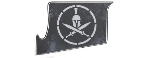 US NightVision Rapid Wraps™ Mil Spec Monkey Magwell Slaps - Spartan (BlackGray)