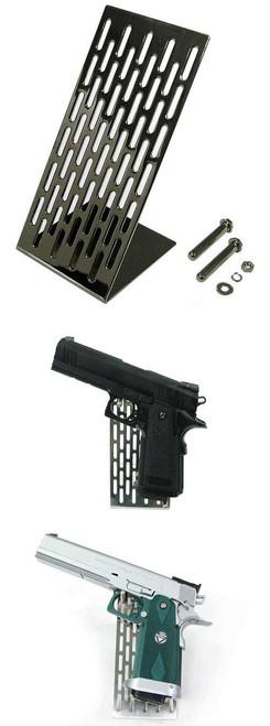 Guarder Stainless Modular Handgun Stand (Black)