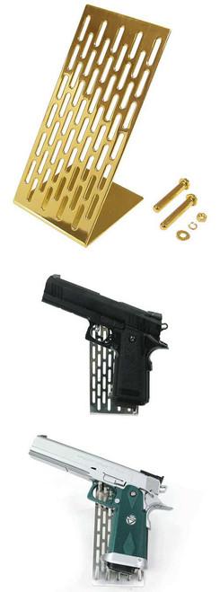 Guarder Stainless Modular Handgun Stand (Golden)