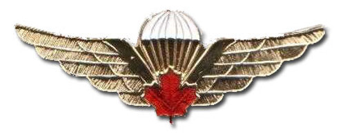 Pin - Canadian Airborne Regiment Red Leaf