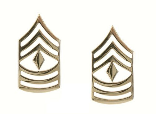 Pin - First Sergeant Polished Insignia
