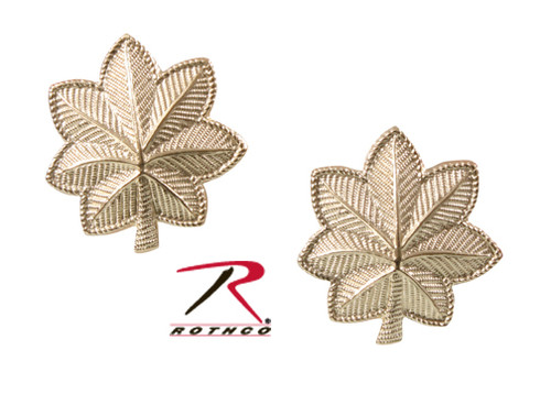 Pin - Major Polished Officer Insignia