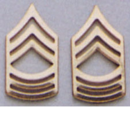 Pin - Master Sergeant Polished Insignia