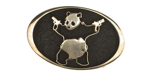 Salient Arms Brass A$$ Panda Belt Buckle