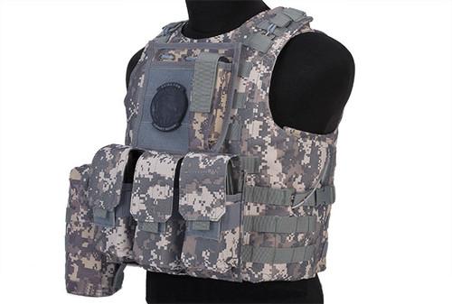 Avengers MOD-II Quick Release Body Armor Vest - ACU