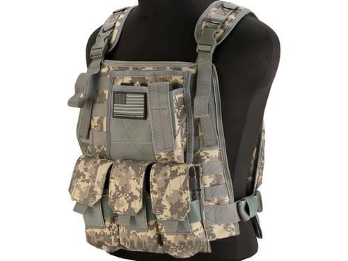 Avengers Tactical Spec. OPS MOLLE Plate Carrier / Load Bearing Vest (Color: ACU)