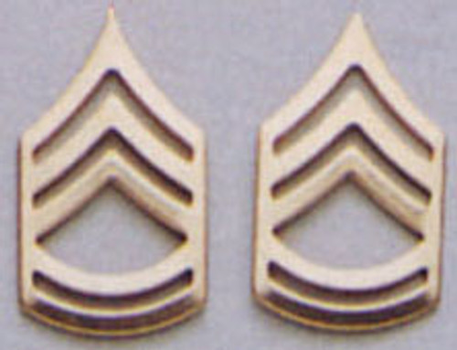 Pin - Sergeant First Class Polished Insignia