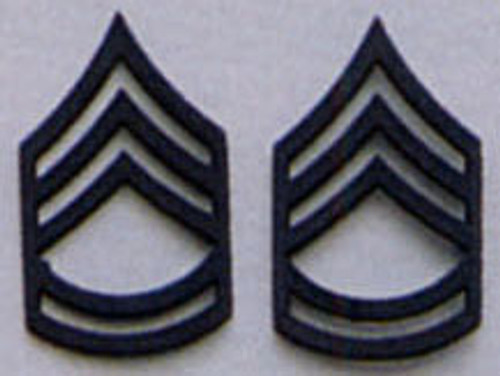Pin - Sergeant First Class Subdued Insignia