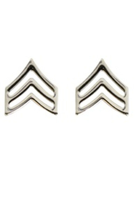 Pin - Sergeant Polished Insignia