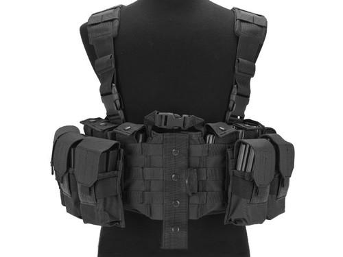 Avengers MOLLE Tactical Assault Vest - Black