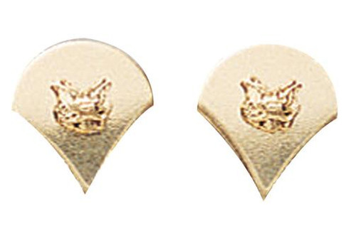 Pin - Spec-4 Polished Insignia