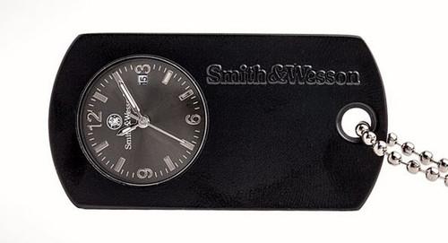 Smith & Wesson W1564BK Dog Tag Watch - Black