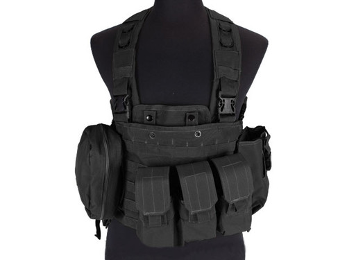 Defcon Commando Chest Rig- Black