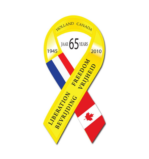 65th Anniversary Liberation Ribbon 6 inch