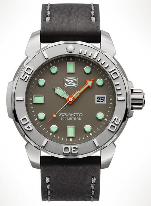 Szanto 5104 Dive Series - Grey Dial