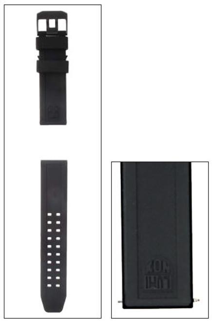 Luminox FP.L.3050.20.BPL Strap PU Black - 23mm