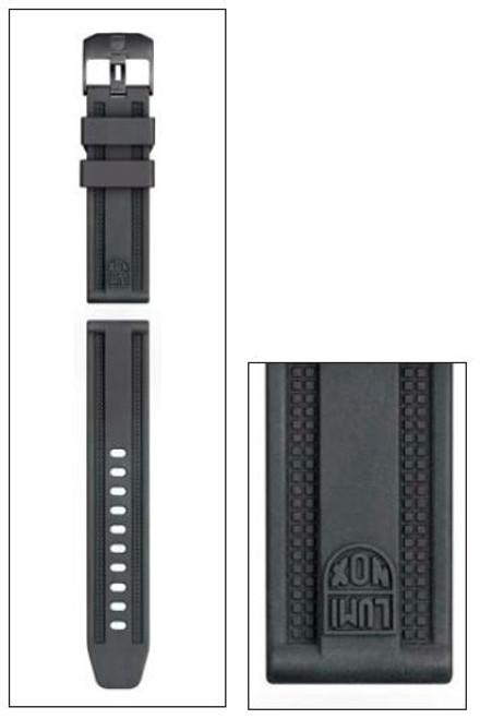 Luminox FP.L.8800.20 Strap PU Black - 23mm