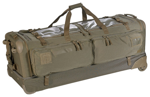 """5.11 Tactical CAMS 40"""" Outbound Rolling Rifle Bag / Suitcase - Sandstone"""