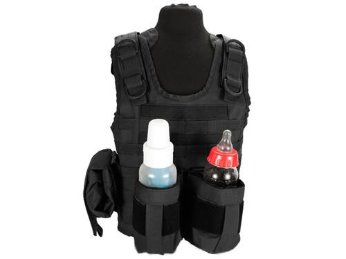 Matrix Tactical Systems Baby CIRAS Tactical Vest - Black