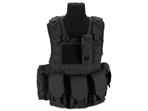 Matrix Tactical Systems Junior Size CIRAS Tactical Vest - Black