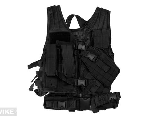 NcStar VISM Children's Tactical Vest - Black