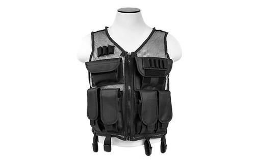 NcStar VISM Lightweight Mesh Tactical Vest - Black